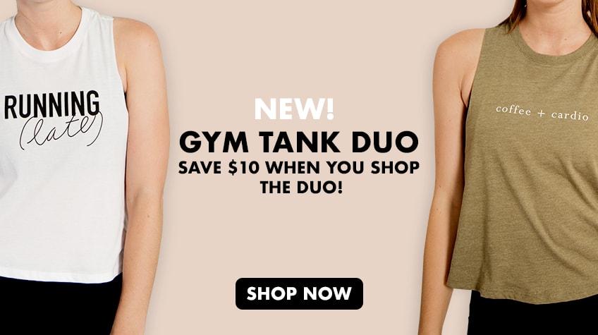 Gym Tank Set