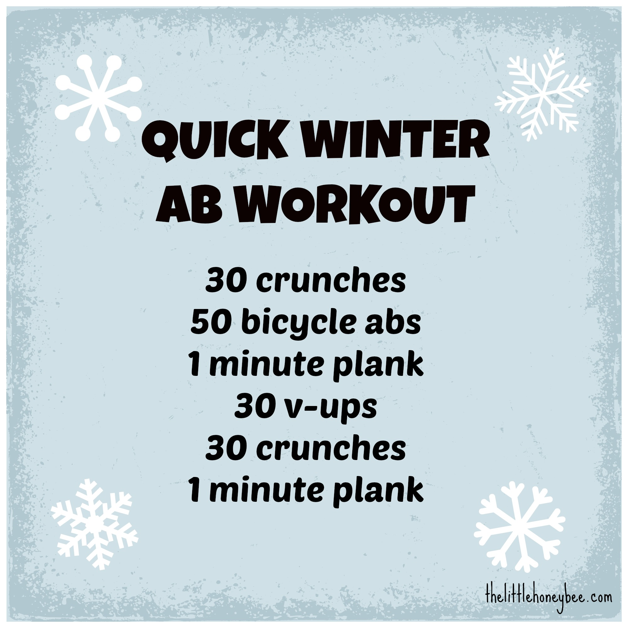 Shawn Johnson's The Body Department - Quick Winter Ab Workout