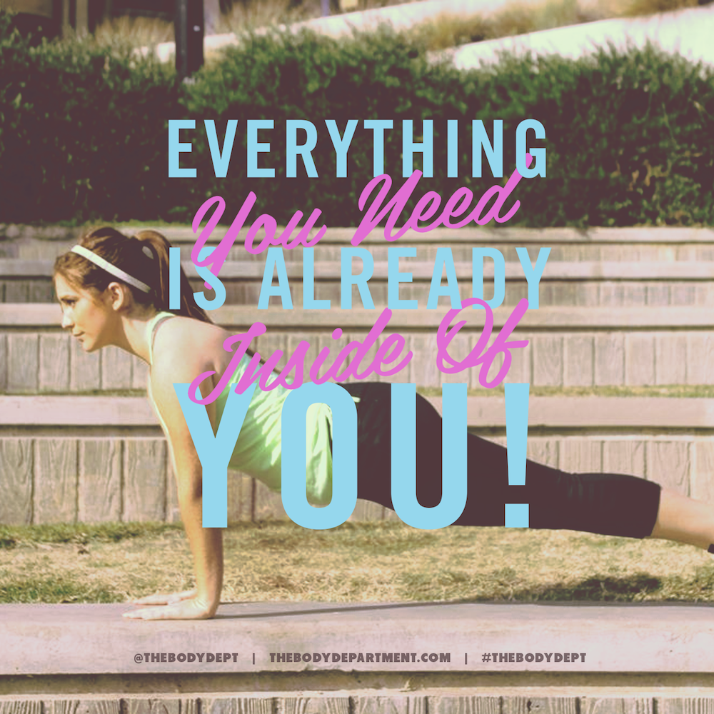 Shawn Johnson's The Body Department - Fitspiration: Everything You Need