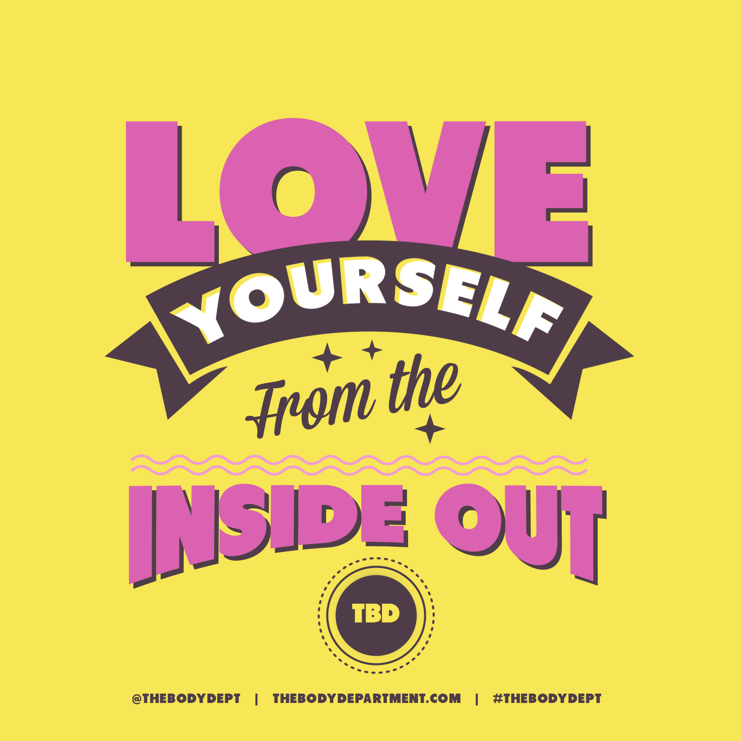 Shawn Johnson's The Body Department - Fitspiration: Love Yourself