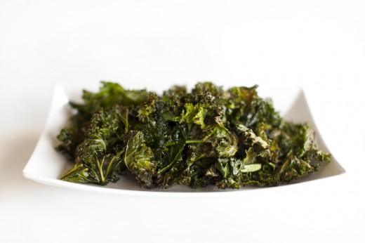 Shawn Johnson's The Body Department - Kale Chips