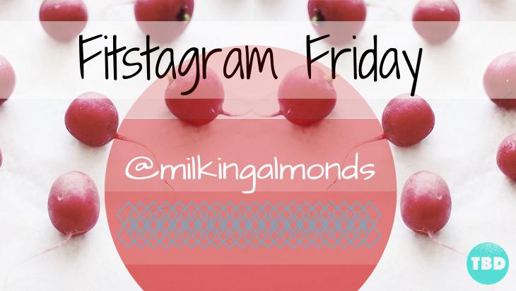 Shawn Johnson's The Body Department - Fitstagram Friday: @milkingalmonds