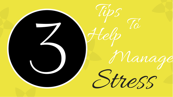 Shawn Johnson's The Body Department - 3 Tips To Help Manage Stress