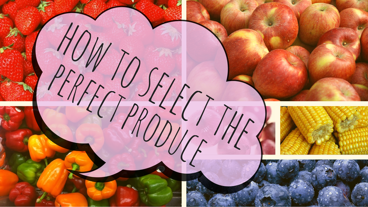 Shawn Johnson's The Body Department - How To Select The Perfect Produce