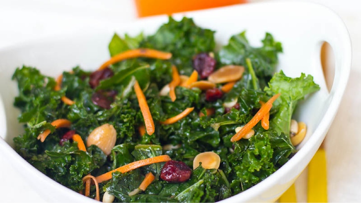 Shawn Johnson's The Body Department - Sexy Summer Kale Salad