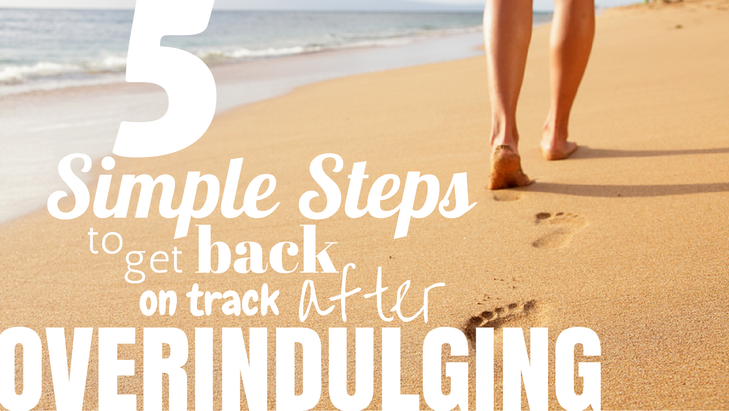 Shawn Johnson's The Body Department - Overindulging? 5 Simple Steps To Get Back On Track