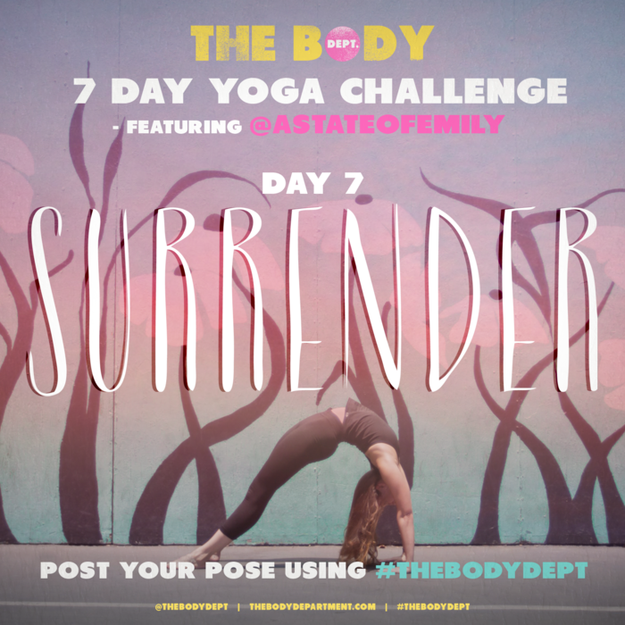 Shawn Johnson's The Body Department - #THEBODYDEPT YOGA CHALLENGE: DAY 7