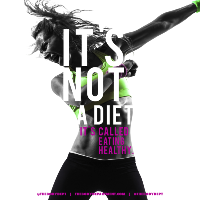 Shawn Johnson's The Body Department - Fitspiration Eat Healthy