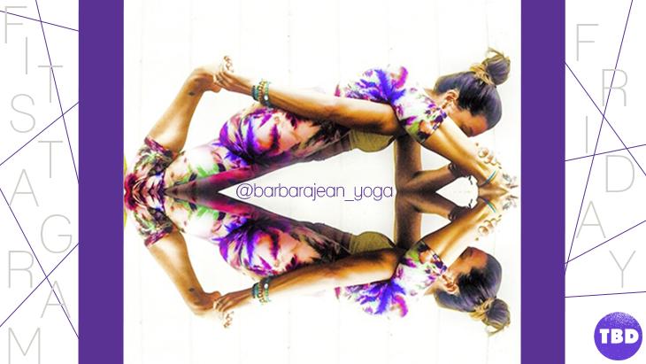 Shawn Johnson's The Body Department - Fitstagram Friday: @Barbarajean_Yoga