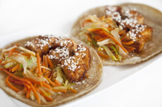 shawn johson's the body department - Spicy Korean Tacos