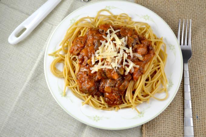 Shawn Johnson's the body department - #MeatlessMonday: Veggie Spaghetti Recipe