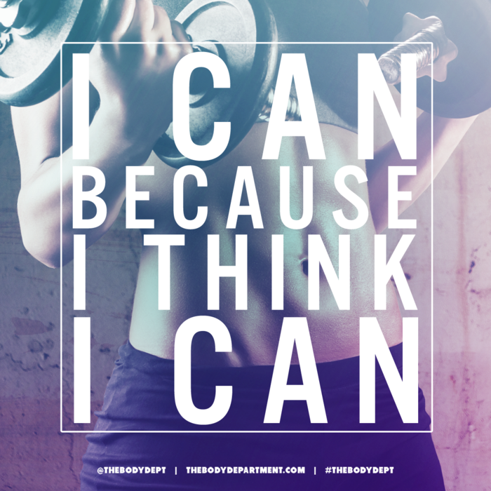 Shawn Johnson's the body department - Fitspiration I Can