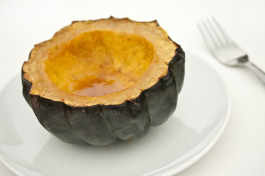 Shawn Johnson's the body department - Sweet Roasted Acorn Squash
