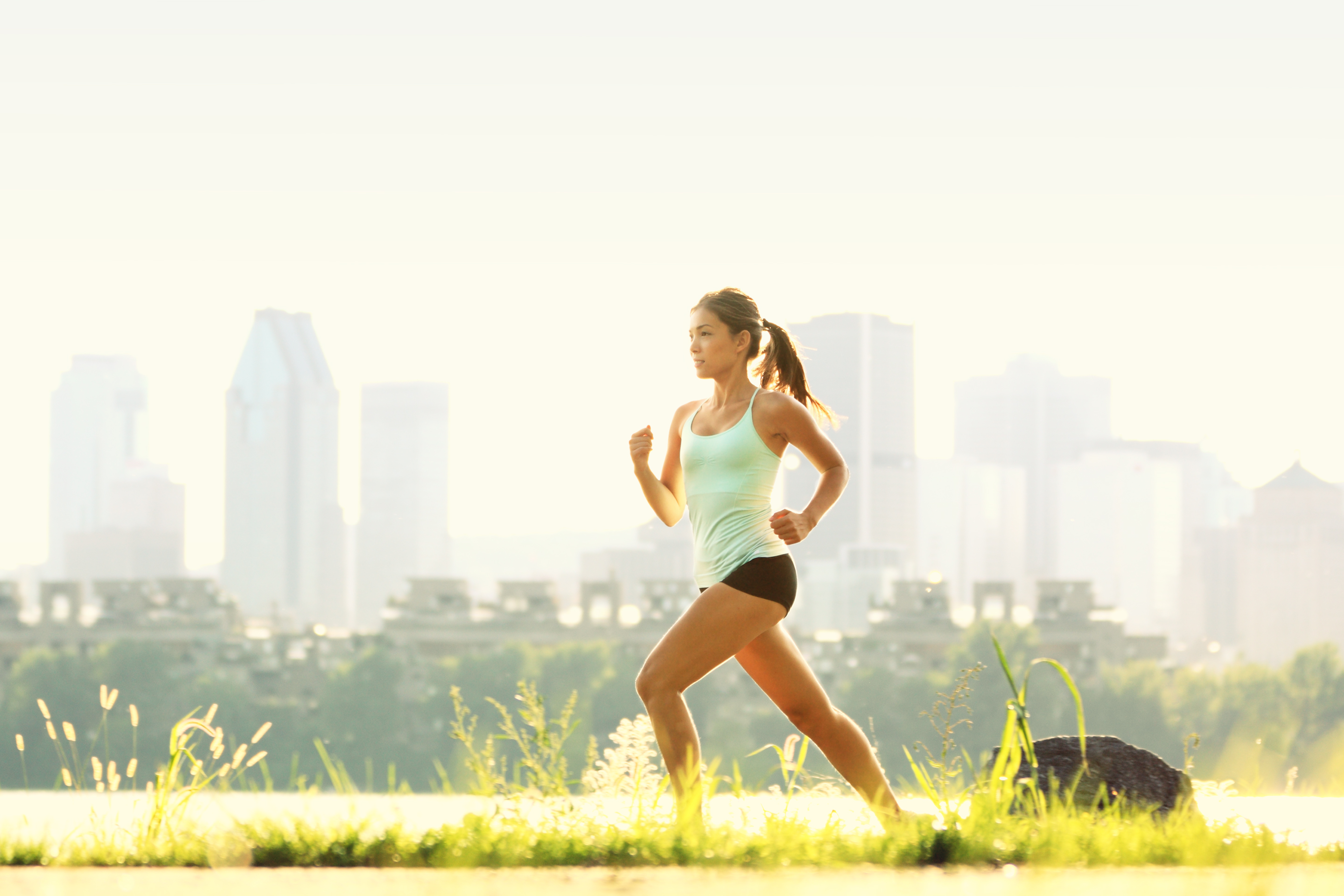 Shawn Johnson's the body department - Tips for New Runners