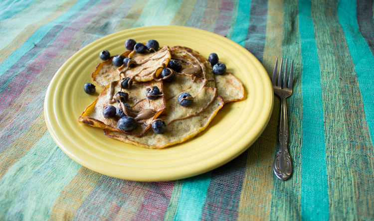 Shawn Johnson's the body department - banana-pancakes