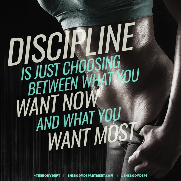 Shawn Johnson's the body department - discipline