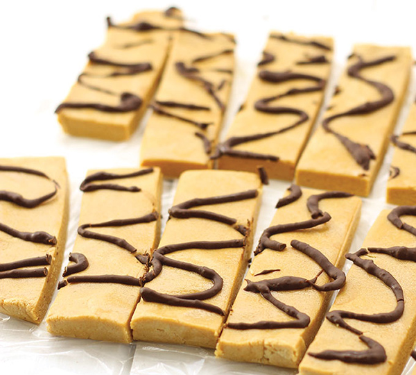 Shawn Johnsons' The Body Department - No-Bake Peanut Butter Protein Bars