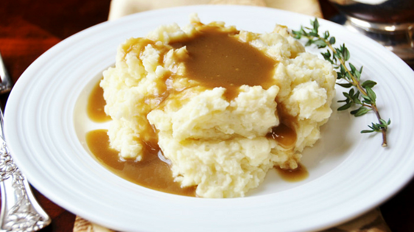 mashed potatoes and gravy guilt free mashed potatoes and gravy the department 31299