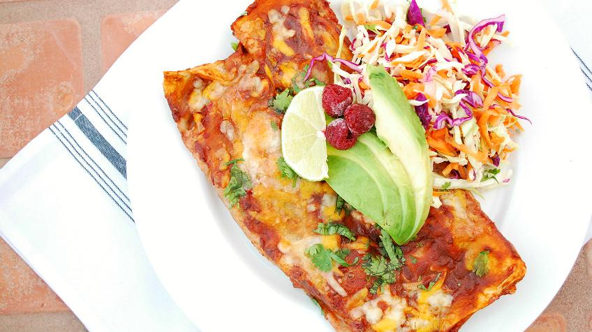 The Best Healthy Enchiladas Ever