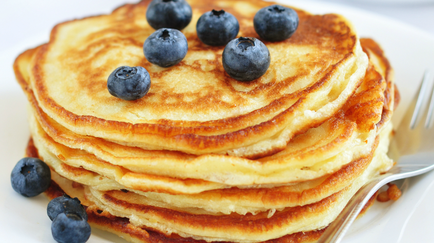 quick and easy protein pancakes