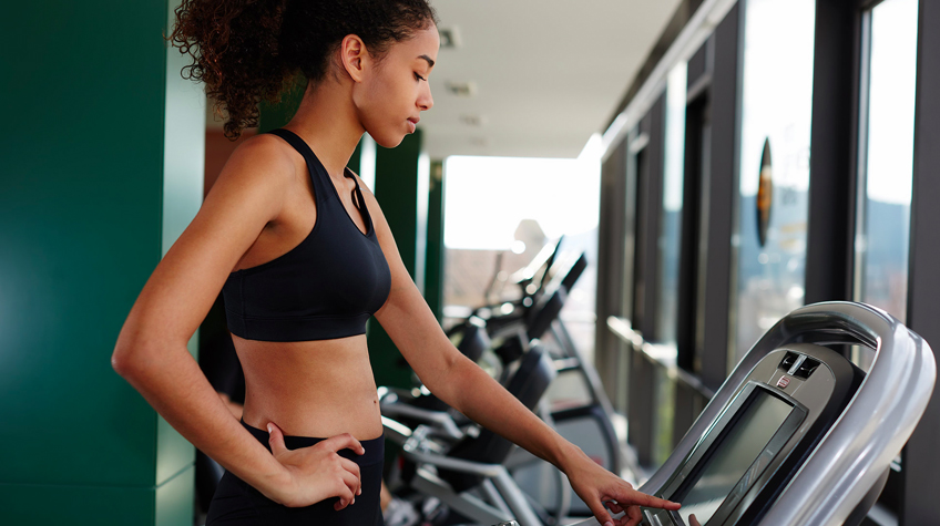 30-Minute Pyramid Treadmill Workout