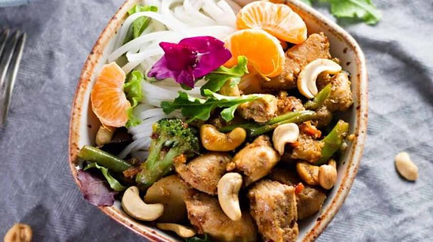Spicy Thai Cashew Chicken